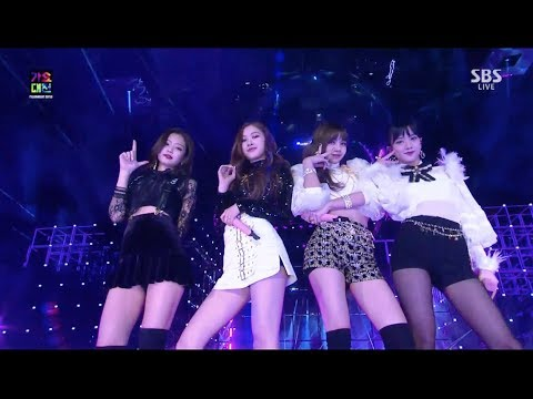 BLACKPINK - '마지막처럼 (AS IF IT'S YOUR LAST)' in 2017 SBS Gayodaejun