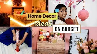 10 Outstanding Hacks to decorate your Home / Room ON BUDGET | My Bedroom Tour | Rabia Skincare
