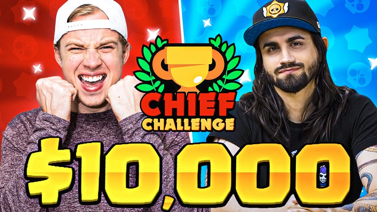 $10,000 CHIEF CHALLENGE feat. DANI from SUPERCELL! (brawl stars)