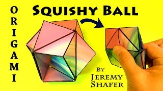 Origami Squishy Ball