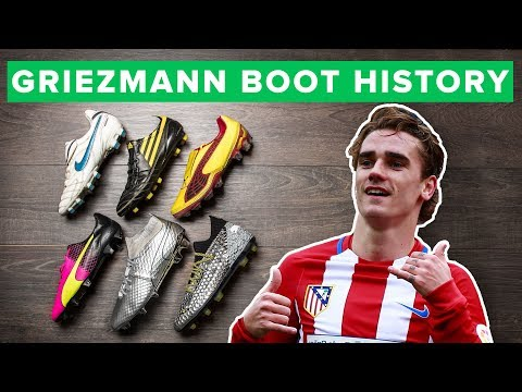 GRIEZMANN BOOT HISTORY 2009-2017 | all Antoine Griezmann football boots