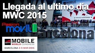 Llegada al Mobile World Congress 2015