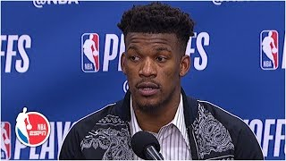 Jimmy Butler says the 76ers' defense needs to be better | NBA Sound