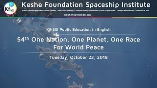 54th One Nation One Planet One Race for World Peace Oct 23 2018 thumbnail