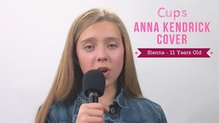 Cups (Anna Kendrick cover) by 11 Year Old Sienna | Kidz Sparkle