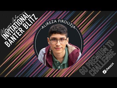 Banter Blitz With GM Alireza Firouzja (2)