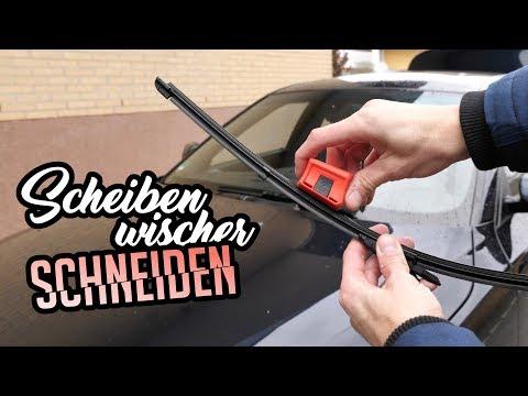 Scheibenwischer Schneider Test | Wischerblatt nachschneiden | DUAL.CUT 727