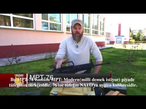 ABD'li silah uzmanı MPT 76'yı öve öve bitiremedi  Türkçe Altyazılı