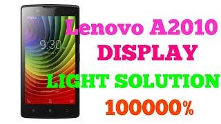 Lenovo A2010 DISPLAY  LIGHT SOLUTION JUMPER WAY