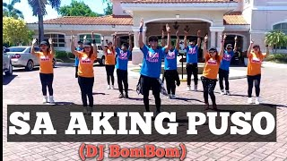 SA AKING PUSO | OPM  [Remix] DJ BomBom | Dancefitness | by Teambaklosh | Zgirls squad