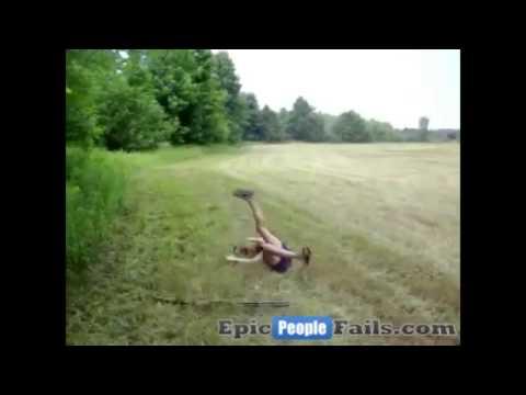 Epic Hot Girl Shotgun Fail! thumbnail