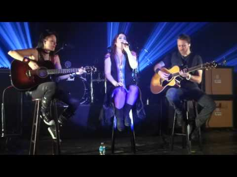Evanescence  My Immortal Acoustic  in HD  11132015  Marathon Music Works  FRONT ROW