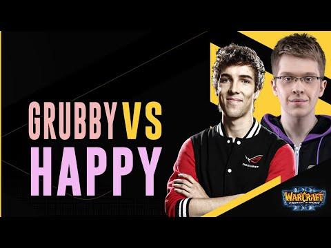 WC3 - W3C Season 2 Finals EU - WB Final: [ORC] Grubby Vs. Happy [UD]