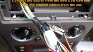 How to install Car DVD GPS TV DIY?