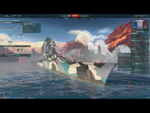 World of Warships ITA - Italian & French Ships - La Galissonniere & Duca D'Aosta - Online Streaming