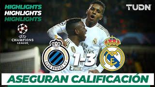 Highlights  Club Brujas 1 - 3 Real Madrid  Champions League - J 6 - Grupo A  TUDN