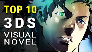 top 10 3DS Visual Novel Games