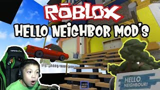 RANDOM HELLO NEIGHBOR MOD'S ON ROBLOX | VLOG #12