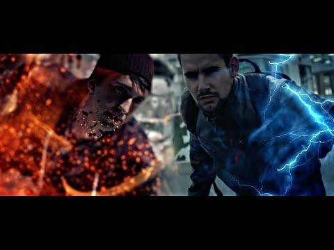 Second Son VS InFamous (Delsin Rowe VS Cole Macgrath) LIVE ACTION!