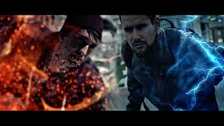 Second Son VS InFamous (Delsin Rowe VS Cole Macgrath) LIVE ACTION!