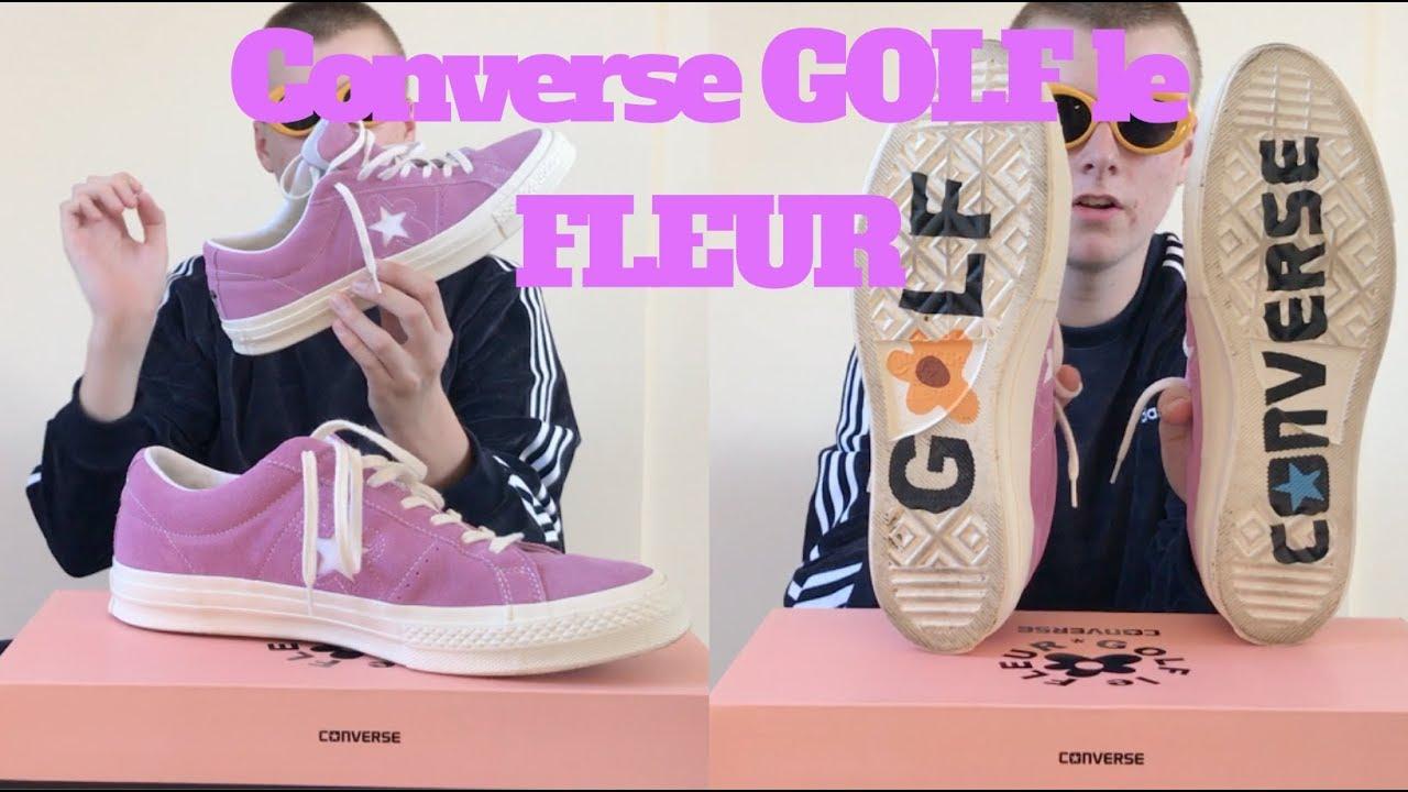 pico Sollozos garra  Converse Golf Wang One Star le FLEUR *RE-UPLOAD* - YouTube