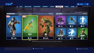 Fortnite New Item Shop Achat de la peau De Biz New - Bizzy Wrap