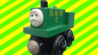Neil The Box Car Tank Engine -thomas & Friends Wooden Toy Railway Review - Character Fridays