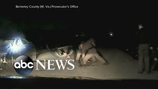 Police dashcam video released showing officers allegedly beating 16-year-old