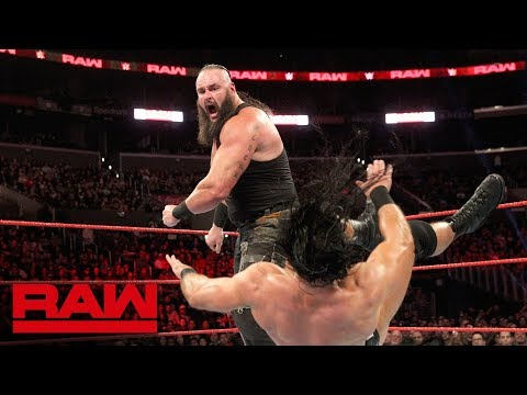 Braun Strowman sustains injury during Elimination Tag Team Match: Raw, Nov. 19, 2018