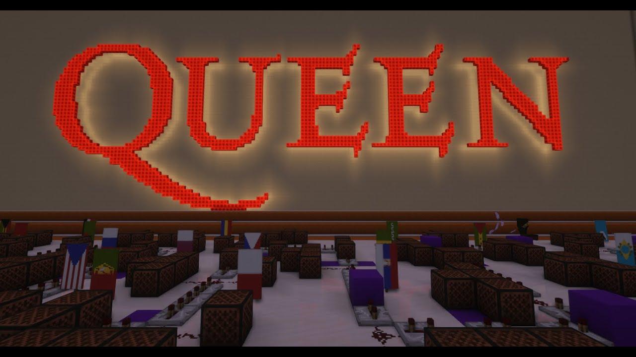 Queen - We Are The Champions [Minecraft Noteblocks]