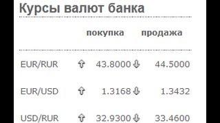 Какой курс обмена валюты по карточке
