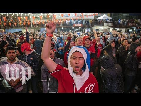 The Morning Rush with Travis Justice and Heather Burnside - Nationals Fans Erupt In Celebrations Across DC