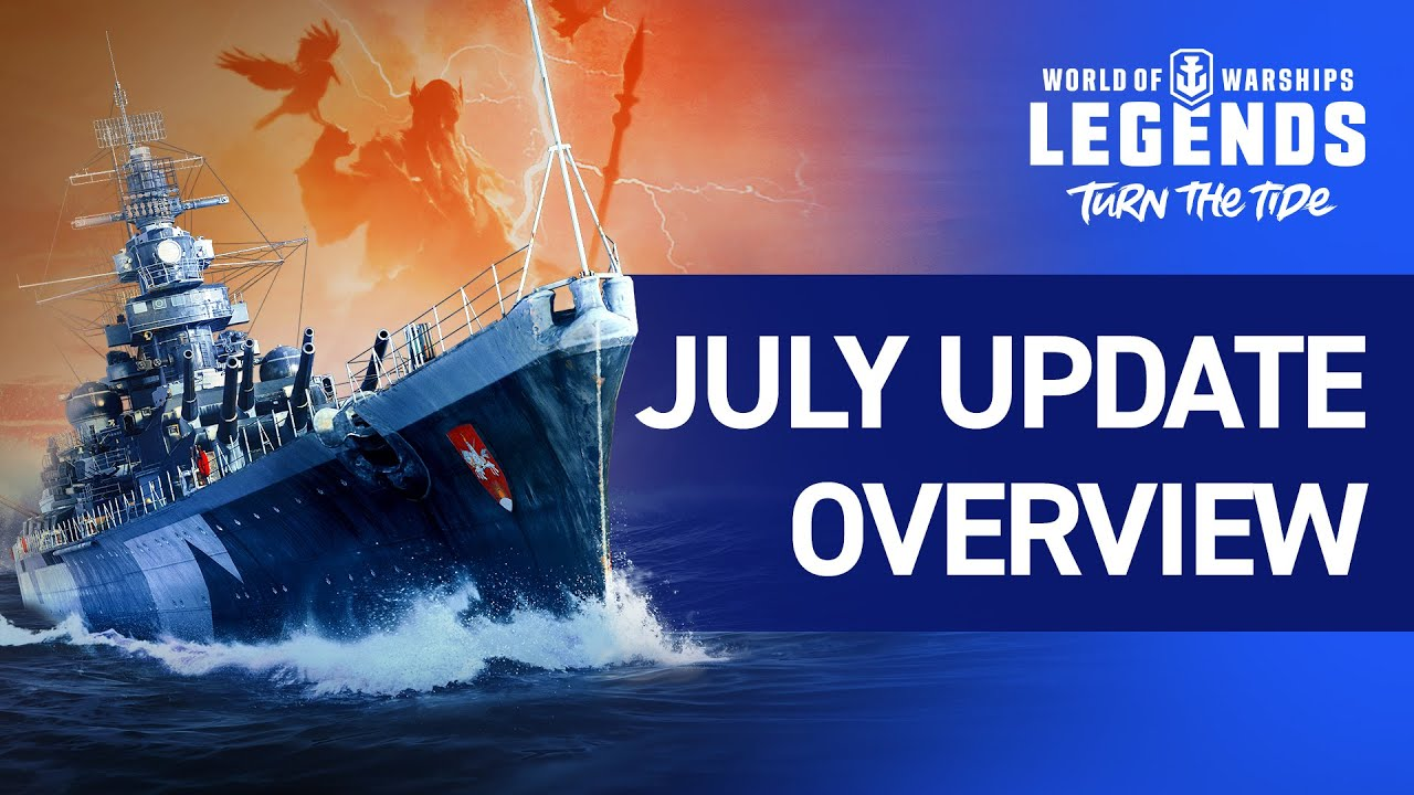 World of Warships: Legends - Actualización