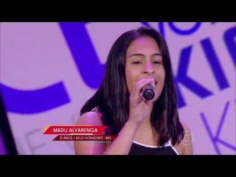 Madu Alvarenga canta 'Simples desejo' no The Voice Kids - Audições|1ª Temporada