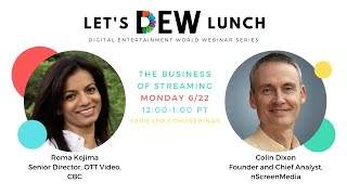 Let's DEW Lunch Webinar with CBC Gem (June 22, 2020)