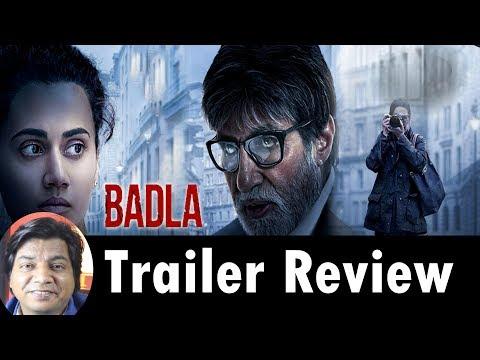 Badla Trailer Review By Saahil Chandel, Amitabh Bachhan | Tapsee Pannu | Shahrukh Khan