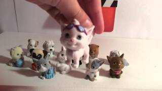 HUGE TOY COLLECTION epsiode 1 puppy/kitty in my pocket, soft spots, mi world pets