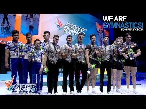 2018 Acrobatic Worlds – 4 World titles for Russia - We are Gymnastics !