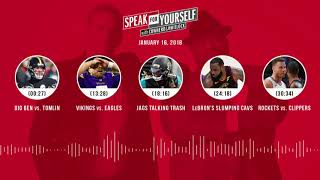 SPEAK FOR YOURSELF Audio Podcast (1.16.18) with Colin Cowherd, Jason Whitlock | SPEAK FOR YOURSELF