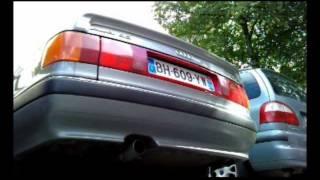 Le chant mélodieux 5 cylindres Audi 90