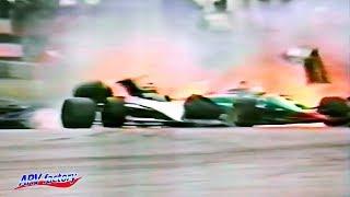 Piquet and Patrese's Big Crash 1985 F1 Monaco