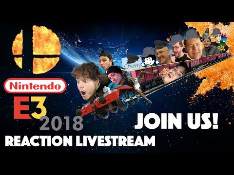 COUNTDOWN Nintendo E3 2018 REACTION LIVESTREAM! Pokemon Lets Go & Super Smash Bros Switch Gameplay! - IT'S THAT WONDERFUL TIME OF YEAR BOYS AND GIRLS!