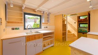 The Nestpod Tiny House On Wheels By Tiny House Scotland | Living Design For A Tiny House
