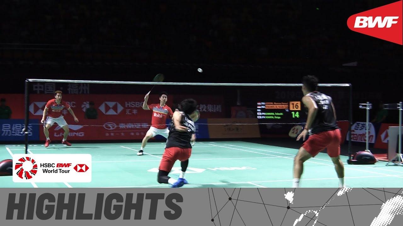 Download Fuzhou China Open 2019 | Finals MD Highlights | BWF 2019