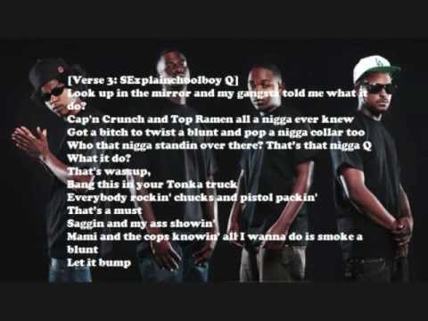Jay Rock - Say Wassup (Lyrics) ft. Kendrick Lamar, Ab Soul and Schoolboy Q