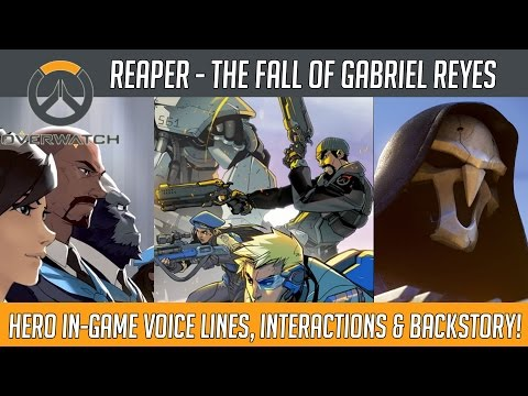Overwatch - Reaper, The Fall of Reyes (Hero Voice Lines and Interactions) | Hammeh