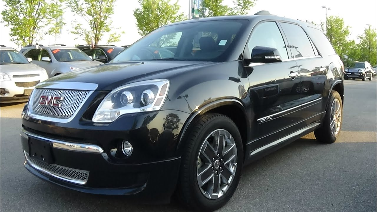 2011 gmc acadia denali review youtube. Black Bedroom Furniture Sets. Home Design Ideas