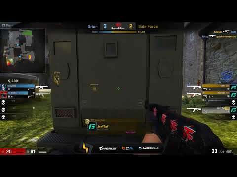[ES] Gale Force vs Orion | IEM Oakland 2017 Open Qualifiers | BO1 | Cobblestone