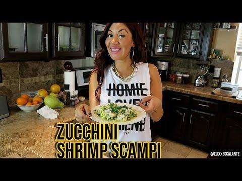 Zucchini Shrimp Scampi / RaqC