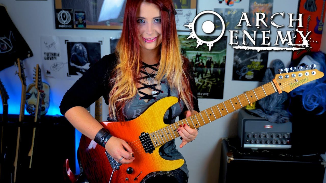 Arch Enemy The Eagle Flies Alone Guitar Cover With Solo 4k
